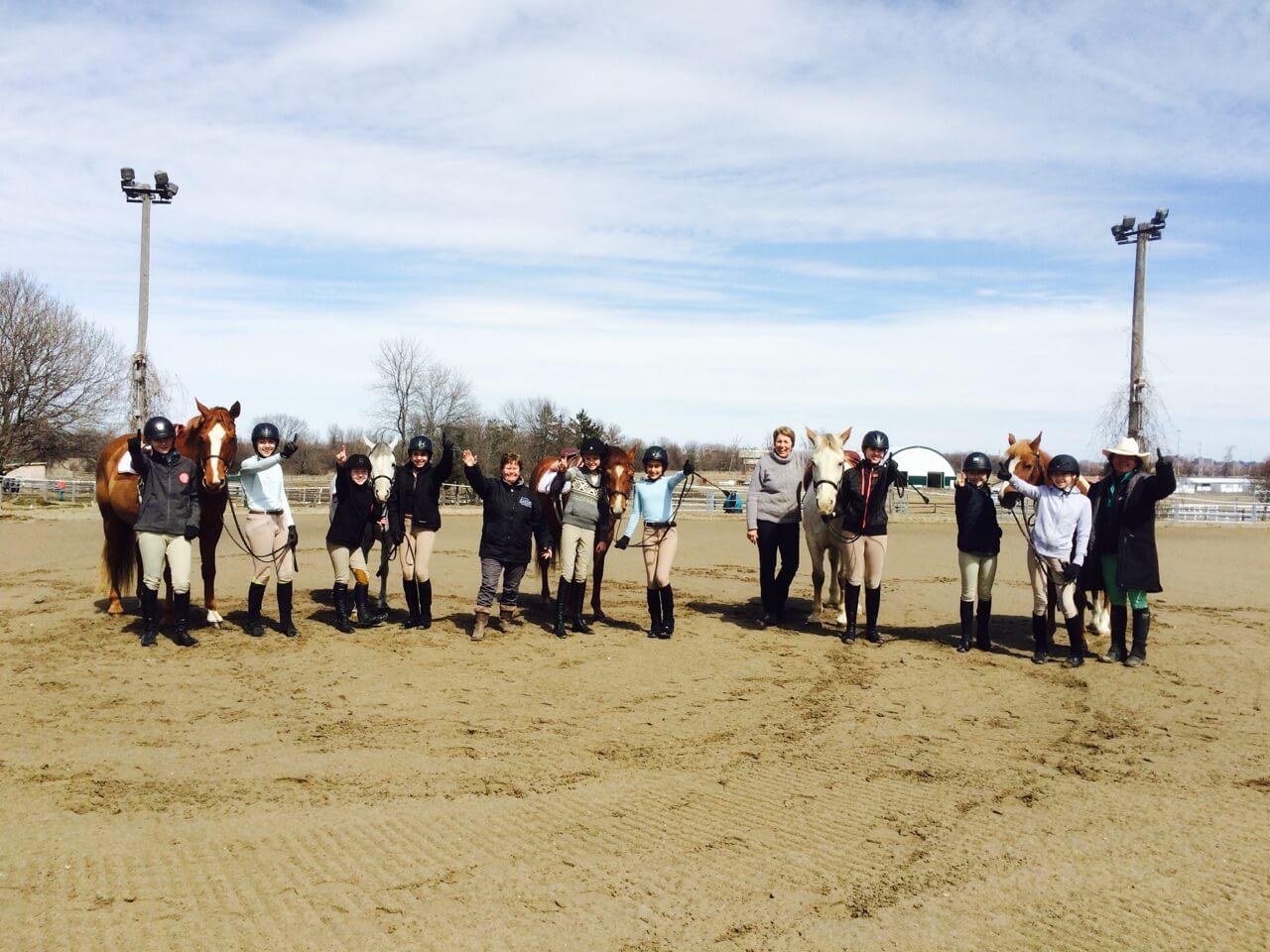 English Hunter Jumper Horseback Riding Lessons Ian Millar School of Horsemanship