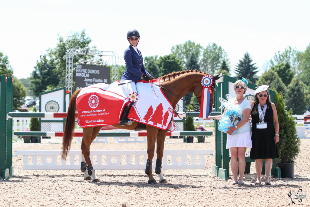Gold Equestrian Competition Ottawa Wesley Clover Parks
