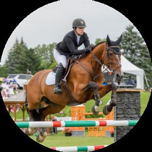Karen Sparks WCP Equestrian Instructor Ottawa National Horse Show Wesley Clover Parks