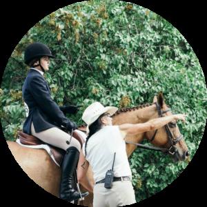 Coach Mandi WCP Equestrian Team Instructor Wesley Clover Parks