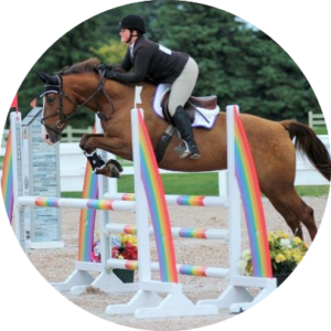 Maeve Rowe WCP Equestrian Team Instructor Wesley Clover Parks