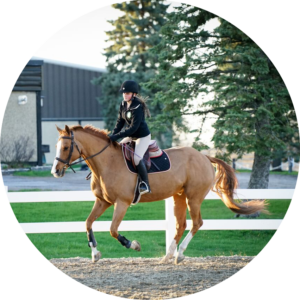Laurence WCP Equestrian Student