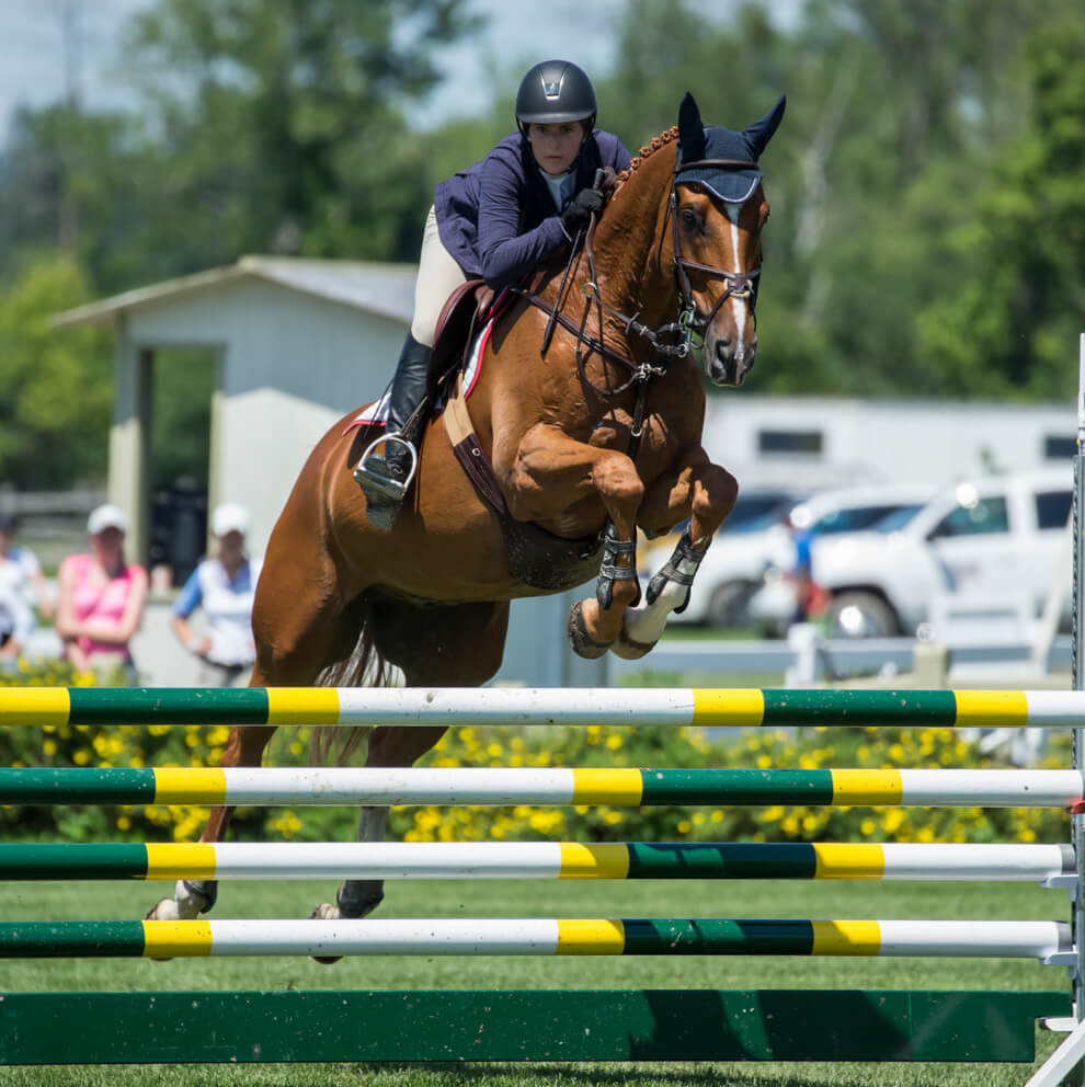 Rayne Jumping Ben Radvanyi