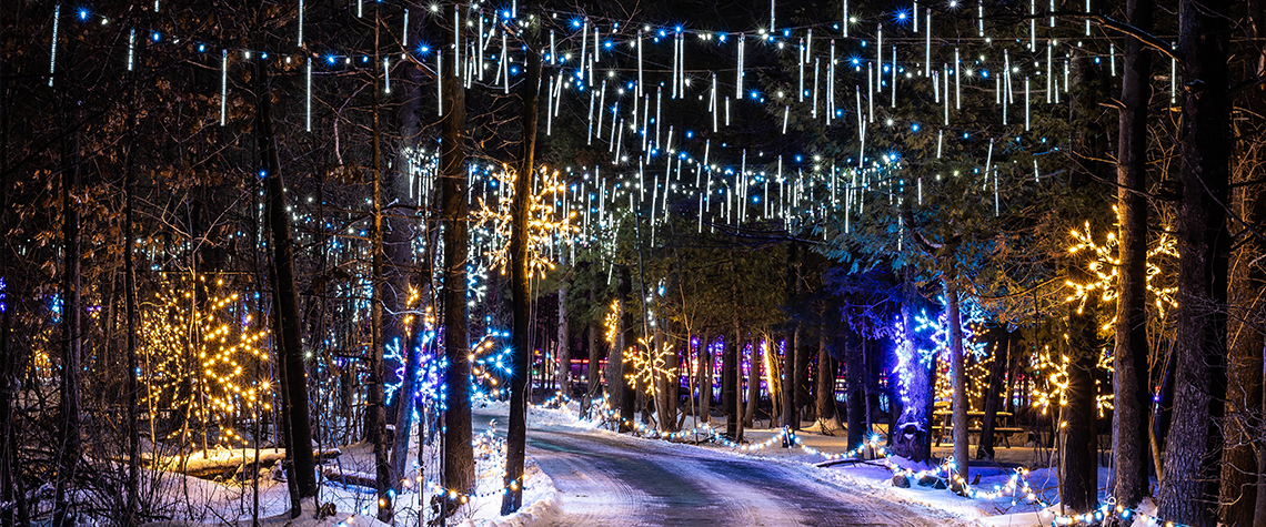 Magic Of Lights Ottawa Wesley Clover Parks Campground